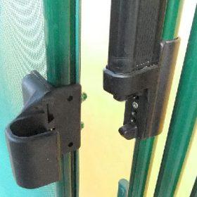 Portillon barrière piscine automatique avec cadre ALU