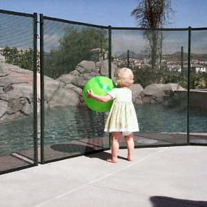 Barrière protection piscine GARDIENNE PRESTIGE module de 2 mètre