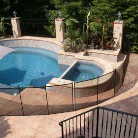 barriere de protection piscine amovible 280x280 - Galerie photo de barrière piscine