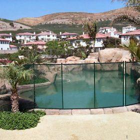barriere piscine amovible 280x280 - Galerie photo d'alarme piscine et douche solaire