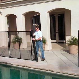 barriere piscine enfant amovible 280x280 - Galerie photo d'alarme piscine et douche solaire