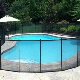 barriere piscine transparente portillon automatique 280x280 - Galerie photo de barrière piscine