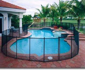 cloture de pisicne au normes 280x233 - Galerie photo d'alarme piscine et douche solaire