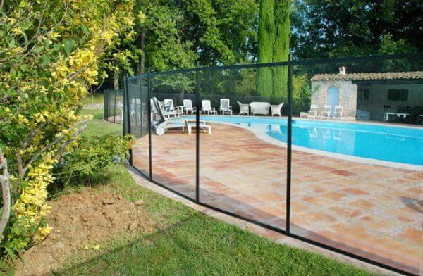 Clôture sécurisation piscine GARDIENNE PRESTIGE module de 3 mètre