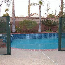 cloture piscine transparente securite 280x280 - Galerie photo d'alarme piscine et douche solaire