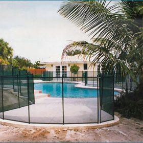 cloture pisicne securite enfant 280x280 - Galerie photo d'alarme piscine et douche solaire