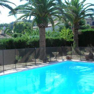 cloture securite protection piscine 300x300 - Barrière sécurité piscine GARDIENNE PRESTIGE module de 4 mètre