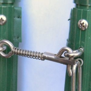 loquet joindre 2 sections de barrières piscines filets amovibles