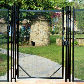 portillon de cloture barriere securite piscine 280x280 - Galerie photo de barrière piscine